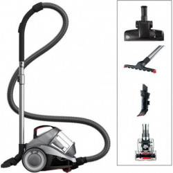 DIRT DEVIL Aspirateur sans sac DD 2424-3 Rebel 34 PET - 4A