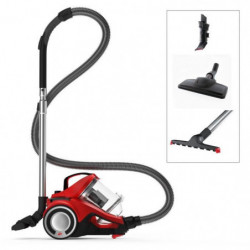 DIRT DEVIL Aspirateur sans sac DD 2425-1 - REBEL 35 PARQUET