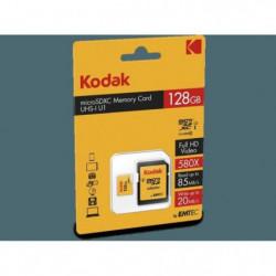 KODAK Class10 U1 Carte mémoire microSDHC - 128 GB