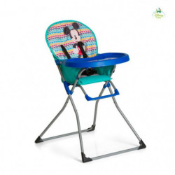MICKEY Chaise haute Mac Baby - Geo blue - Disney Baby