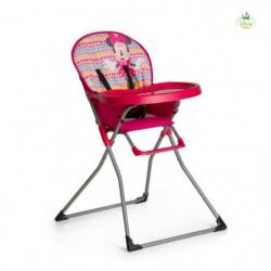 MINNIE Chaise haute Mac Baby Geo pink - Disney Baby