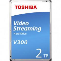 TOSHIBA - Disque dur Interne - V300 - 2To - 5 700 tr/min