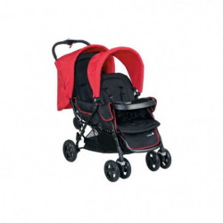 SAFETY 1ST Poussette Double Tandem Duodeal Plain Red