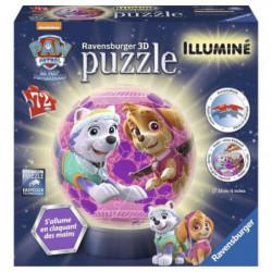 PAT'PATROUILLE Puzzle 3D 72 pcs pour filles