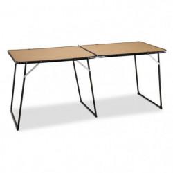 EREDU Table Double Pliante camping 808/Ds - 160 x 60 cm