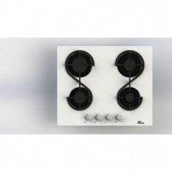 HUDSON  HTG 4 VB - Table de cuisson gaz - 4 foyers - L 60 cm
