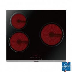 BRANDT BPV6320 - Table de cuisson vitrocéramique-3 zones