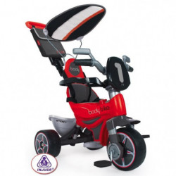 INJUSA Tricycle Body Trike avec Pare Soleil Rouge