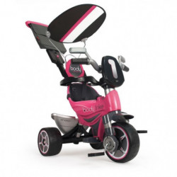 INJUSA Tricycle Rose avec Pare Soleil Fille