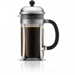 BODUM - CHAMBORD - Cafetiere a piston - 8 tasses - 1.0 l