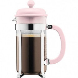 BODUM CAFFETTIERA Cafetiere a piston - 8 tasses - 1 L - Rose