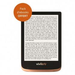 Liseuse numérique Vivlio Touch HD + Pack d'ebooks