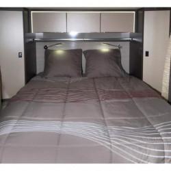 MIDLAND Lit Tout Fait 160x210 cm - Linge de lit camping-car