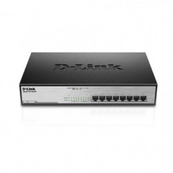 D-LINK  Switch 8-Ports - DGS-1008MP - 10/100/1000Mbps Poe+