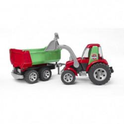 BRUDER 20116 - Tracteur ROADMAX avec fourche et remorque