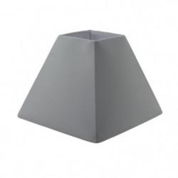 Abat-jour forme Pyramide - 16 x 16 x H 13 cm - Polycoton - B