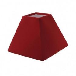 Abat-jour forme Pyramide - 16 x 16 x H 13 cm - Polycoton - R