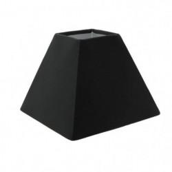 Abat-jour forme Pyramide - 16 x 16 x H 13 cm - Polycoton - G