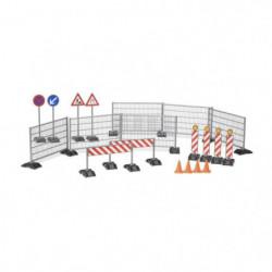 BRUDER - Accessessoires de chantier: panneaux de signalisati