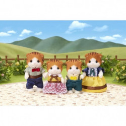 SYLVANIAN FAMILIES 5290 - Famille Chats Roux Sylvanian