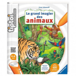 TIPTOI Livre Interactif Le Grand Imagier des Animaux