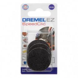 DREMEL 6 disques de ponçage S411 EZ Speedclic