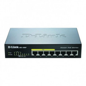 D-Link DGS-1008P - Switch Gigabit 8 ports