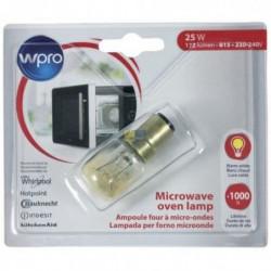 WPRO LMO147 - Ampoule pour micro ondes - B15 T25 - 25W - 220