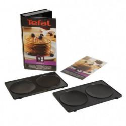 TEFAL Accessoires XA801012 Lot de 2 plaques pancakes Snack C