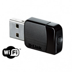 D-LINK Adaptateur nano USB Wireless AC Dual-Band - DWA-171