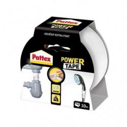 PATTEX Adhésif super puissant Power tape - Blanc - 10 m