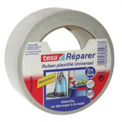 TESA Ruban de réparation Toilé 1001 Usages - 25m x 50mm - Bl