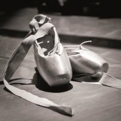 Affiche papier -  Ballet shoes   - Braun Studio  -  30x30 cm