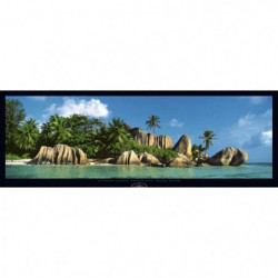 Affiche papier -  La Digue Island, Seychelles  - Hanel  - 33
