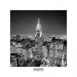 Affiche papier -  Chrysler Building  - Silberman  - 30x30 cm