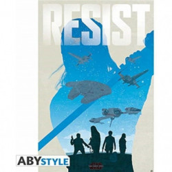 Poster Star Wars - Resist - roulé filmé (91.5x61) - ABYstyle