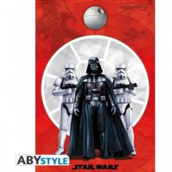 Poster Star Wars - Dark Vador & 2 Troopers - roulé filmé (98