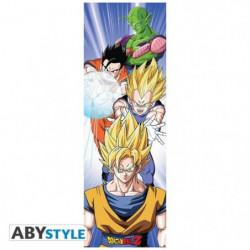Poster de Porte Dragon Ball - Saiyans (53x158) - ABYstyle