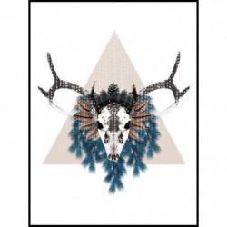 Image encadrée Albatre Pearl - Imprimée haute définition pui