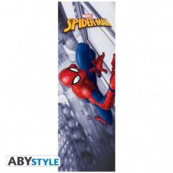 Poster de Porte Marvel - Spider-man - Roulé filmé (53x158) -
