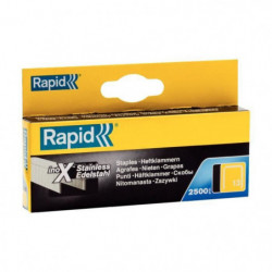 RAPID Agrafes inoxydable - Fil fin - N°13/06 mm