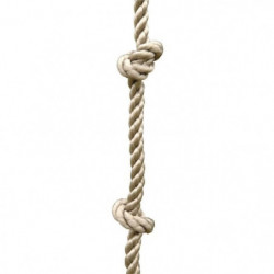 TRIGANO Corde A Noeuds pour Portique 3/3,50m