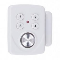 SMARTWARES Mini alarme SC33 détecteur d'ouverture pour porte