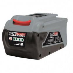 SCHEPPACH Batterie interchangeable - 40V 2,5 Ah - BPS2.5-40L