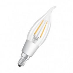 OSRAM Ampoule LED E14 flamme claire 4,5 W équivalent a 40 W