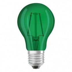 OSRAM Ampoule déco LED standard E27 - Verte