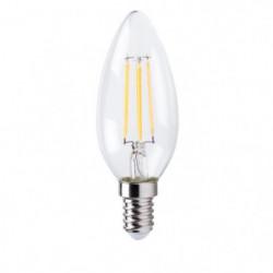 XQ-Lite Ampoule filament LED flamme E14 XQ1562 4 W équivalen