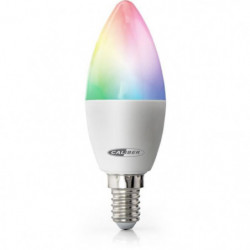 CALIBER HWL1101 Ampoule LED intelligente E14 blanc froid a b
