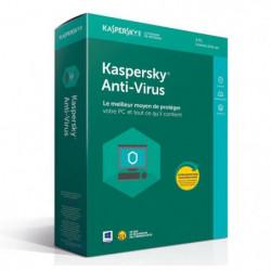 KASPERSKY Antivirus 2018 - 3 Postes / 1 An