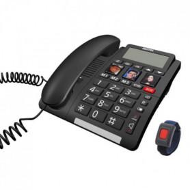 Téléphone sénior Fixe TF560 SWITEL - Grand écran